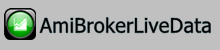 Amibroker Live Data Feeder support