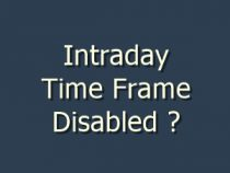 Intraday time frame disable in amibroker